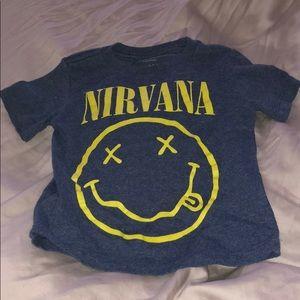 Other - Nirvana t shirt size 12/18 months